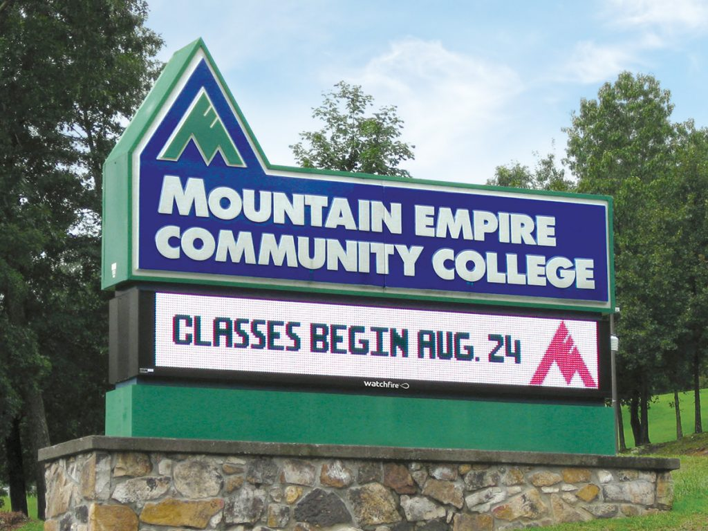 LED Signs For Colleges