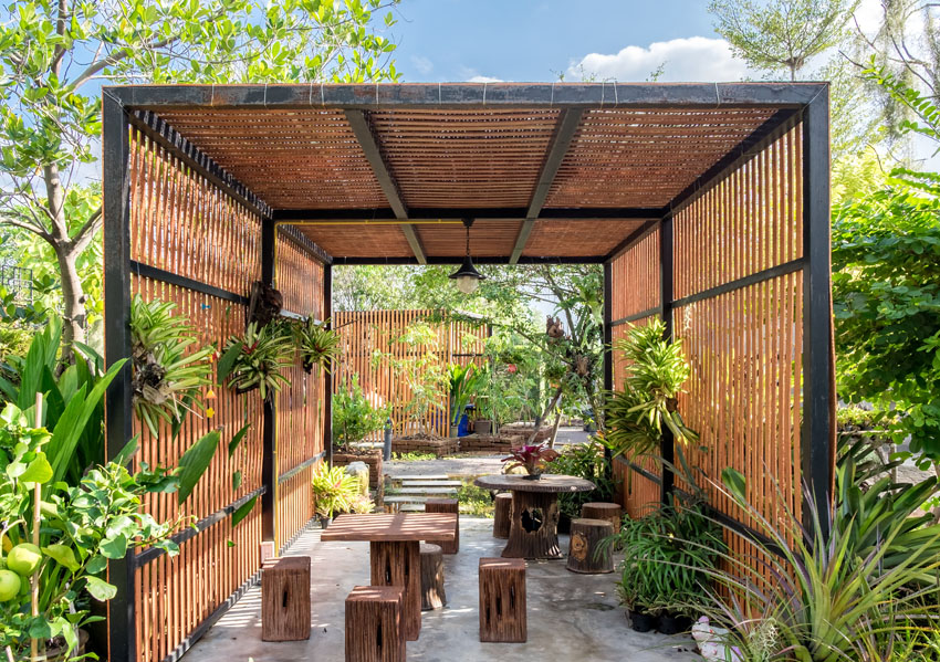 How a Modern Pergola Could Benefit Your Garden ... on Cost To Landscape Small Backyard id=25777